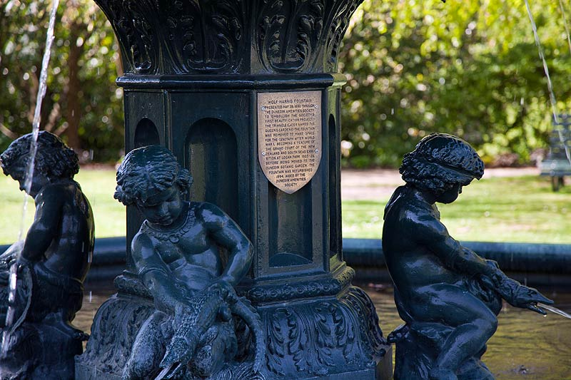 Wolf Harris Fountain